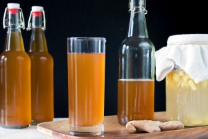Limonade de Gingembre fermentée