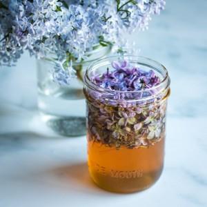 Miel infusé aux lilas