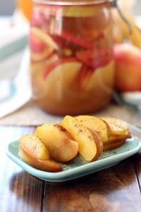 Pommes probiotiques à la cannelle, un Vrai régal