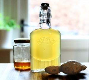 Sirop de Gingembre au Miel