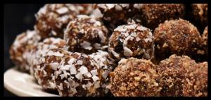 Délicieux bonbons aux noix et fruits secs
